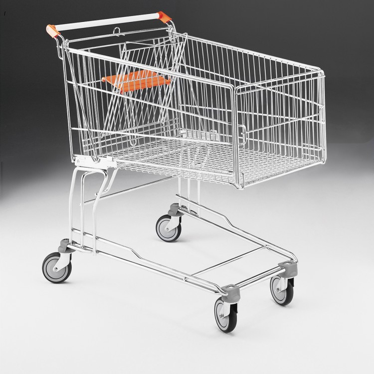 Easy check-out trolley 200L
