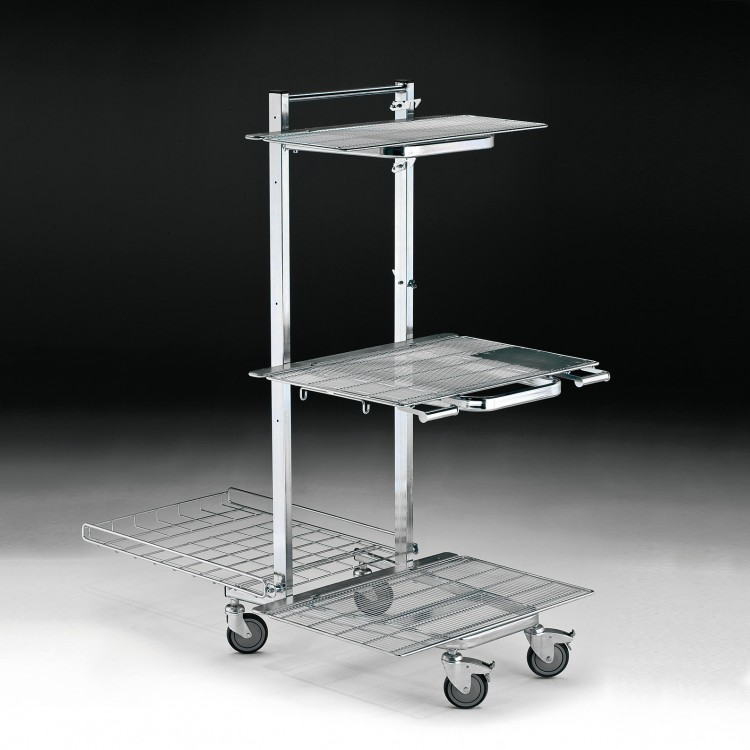 Nestable Re-stoking Trolley