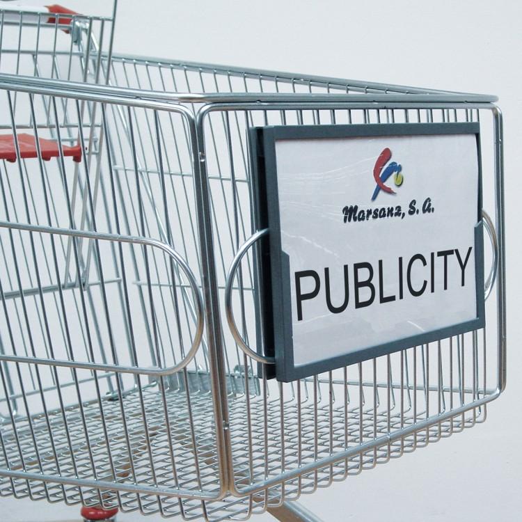 Porta-cartel publicitario