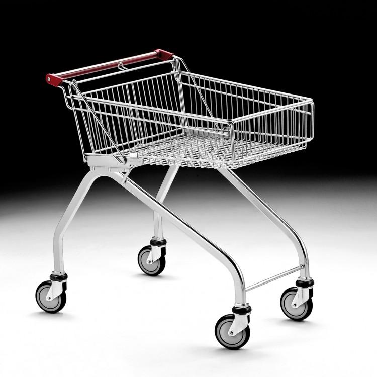 Light shopping trolley 80L.