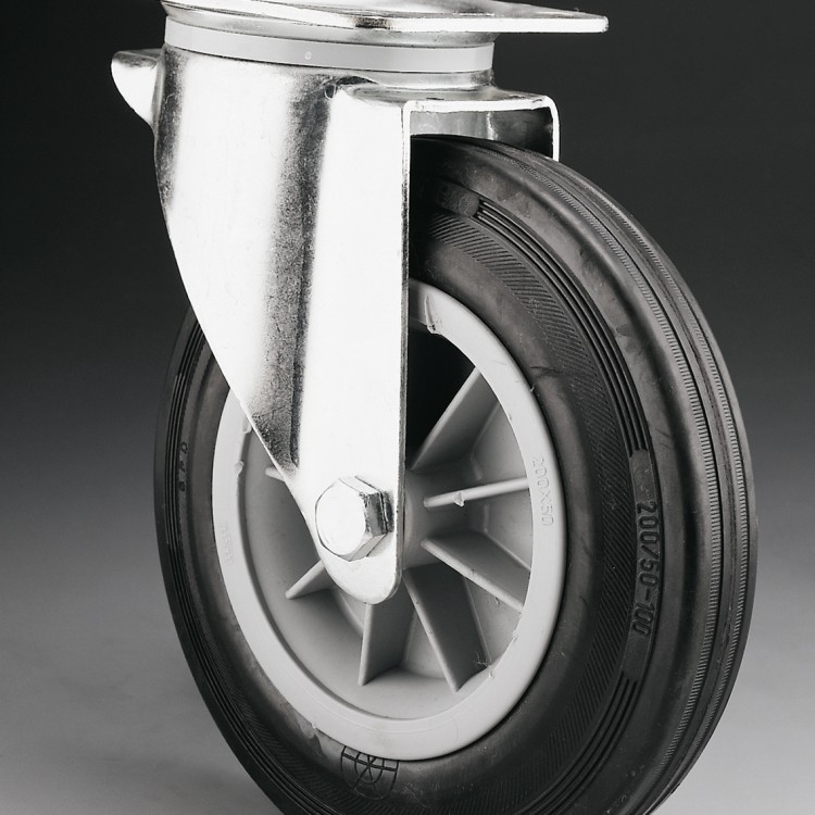 W110 – Swivel wheel 200 Ø