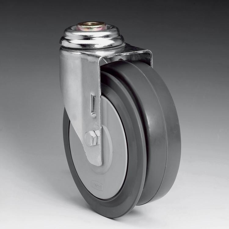 R7 – Lenkrolle 125Ø mit Radscheibenbremse