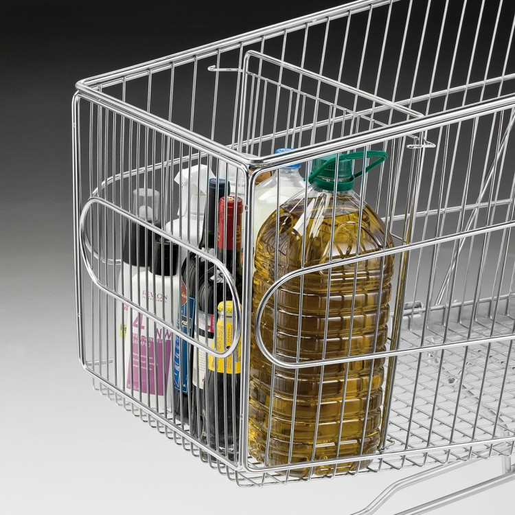 Vertical basket divider