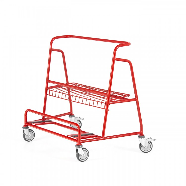 LIGHT NESTABLE BOARD-CARRIER TROLLEY