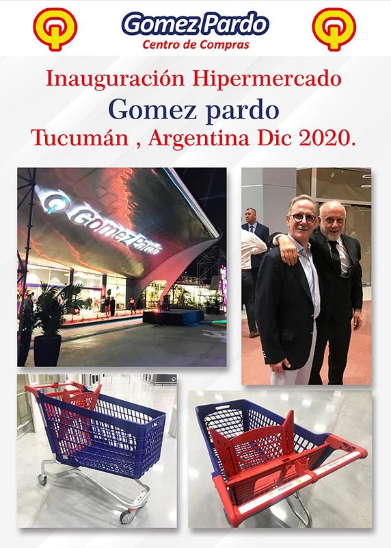 Inaguración Hipermercado Gómez Pardo, Tucuman Argentina