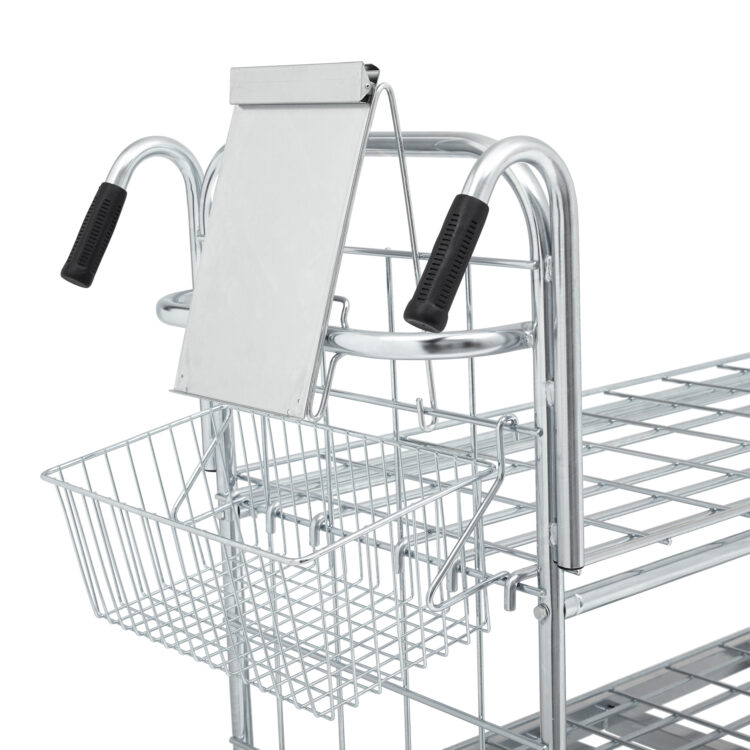 Delivery note holder for online trolley 1100